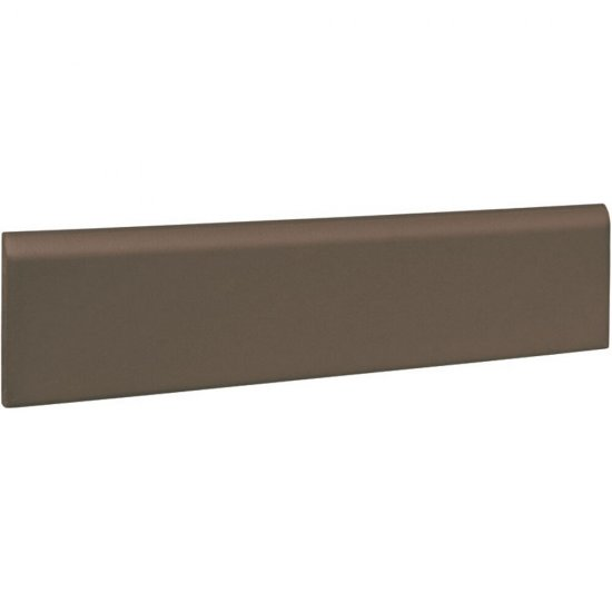 Klinkier SIMPLE BROWN brązowy cokół mat 8x30 gat. I