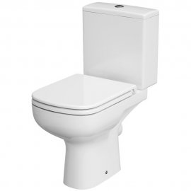 Kompakt WC 574 COLOUR NEW 010 3/5 z deską duroplast antybakteryjną