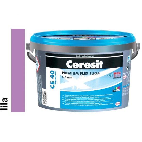 Fuga elastyczna CERESIT CE 40 lila 5 kg