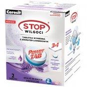 Tabletki wymienne CERESIT STOP Wilgoci Power TAB lawenda 2x300g