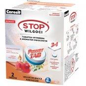 Tabletki wymienne CERESIT STOP Wilgoci Power TAB Aromatherapy Ożywcza moc owoców 2x300g