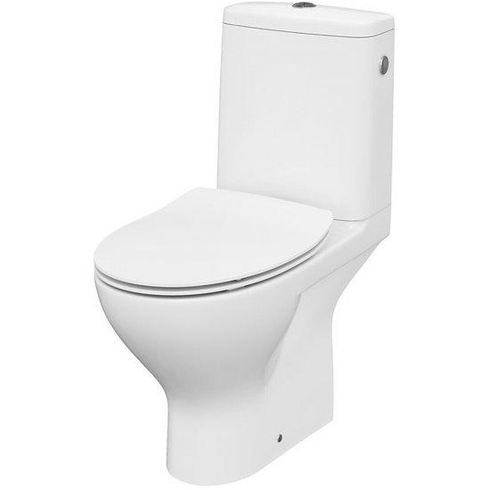 Kompakt WC 670 SBTW MODUO 43 CO 010 3/5 deska duroplast wolnoopadająca z łatwym wypinaniem