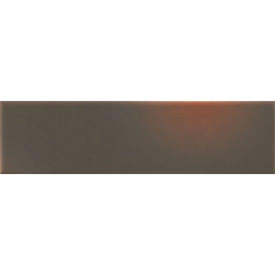 Klinkier SHADOW BROWN brązowy elewacyjny mat 6,5x24,5 gat. I