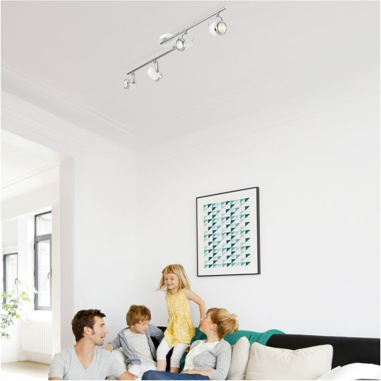 Lampa sufitowa BALSA 4xGU10 56484/31/16 Philips