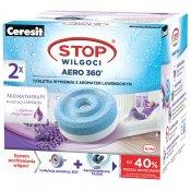 Tabletki wymienne CERESIT STOP Wilgoci AERO 360 lawendowe 2x450g