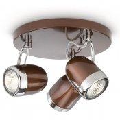 Lampa sufitowa BALSA 3xGU10 56483/43/16 Philips