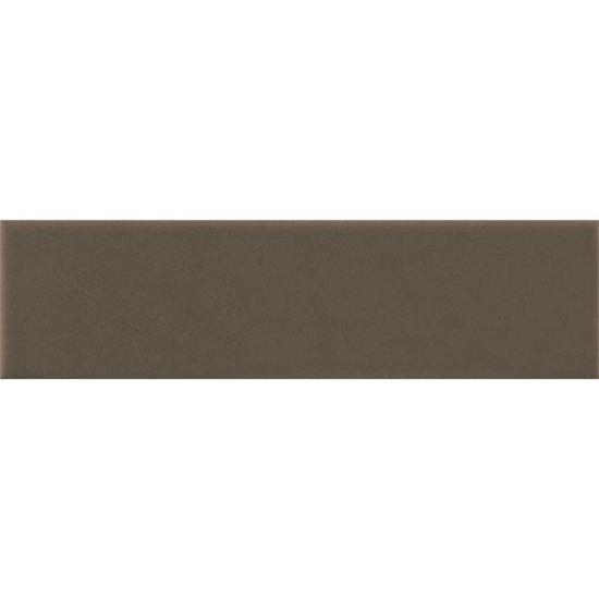 Klinkier SIMPLE BROWN brązowy elewacyjny mat 6,5x24,5 gat. I