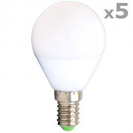 Żarówka 22 LED SMD 4,5W E14 biały ciepły 43661 5szt Abilite