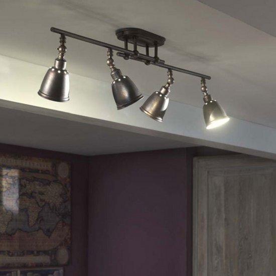 Lampa sufitowa 4x8 W E14 PETROL, 52134/43/PN Philips