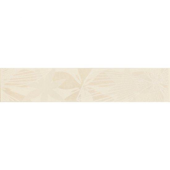 Płytka ścienna ELVANA biała listwa błyszcząca 5x25 gat. I