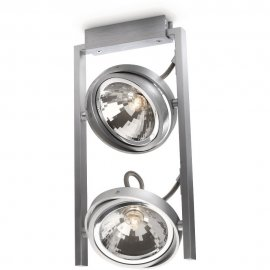 Lampa sufitowa 2x60 W, G9 FAST 53062/48/PN Philips