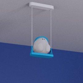 Lampa dziecięca BUDDY SWING 1xE27 41070/35/16 Philips