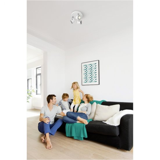 Lampa sufitowa 3x35 W, GU10 BALSA 56483/31/PN Philips