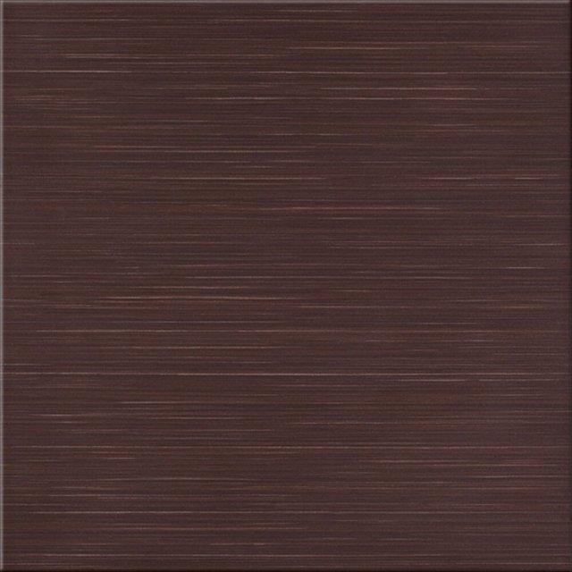 Gres szkliwiony TANAKA brązowy mat 29,7x29,7 gat. I