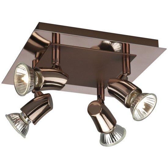 Lampa sufitowa 4x50 W, GU10 LIPO 55618/05/PN Philips