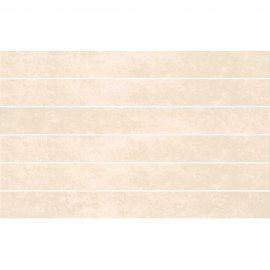 Płytka ścienna HERSA biała mozaika paski błyszcząca 25x40 gat. I