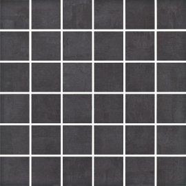 Gres szkliwiony FARGO czarny mozaika mat 29,7x29,7 gat. I