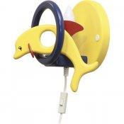 Kinkiet dziecięcy Delfin 0403.08 żółto-granatowy Klik