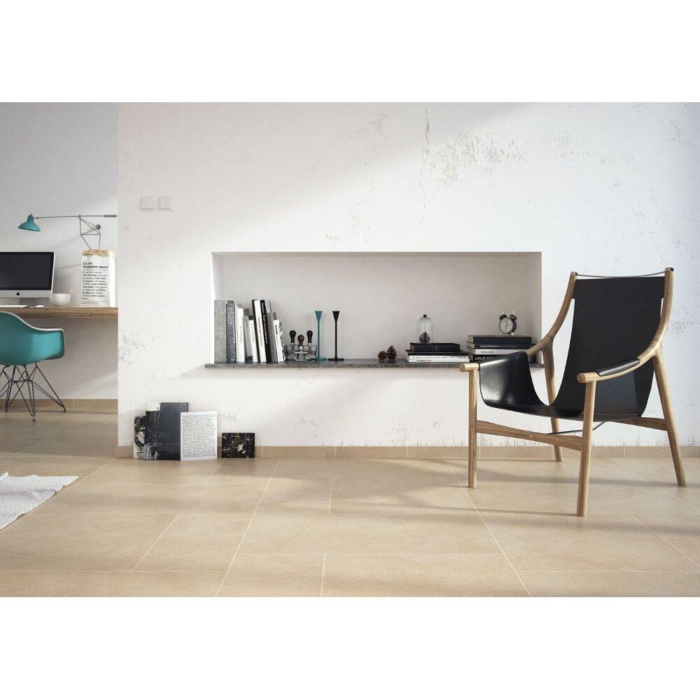 Dusk Grey Tile: Gres Szkliwiony DUSK Szary Textile Mat 29x59,3 Gat. I