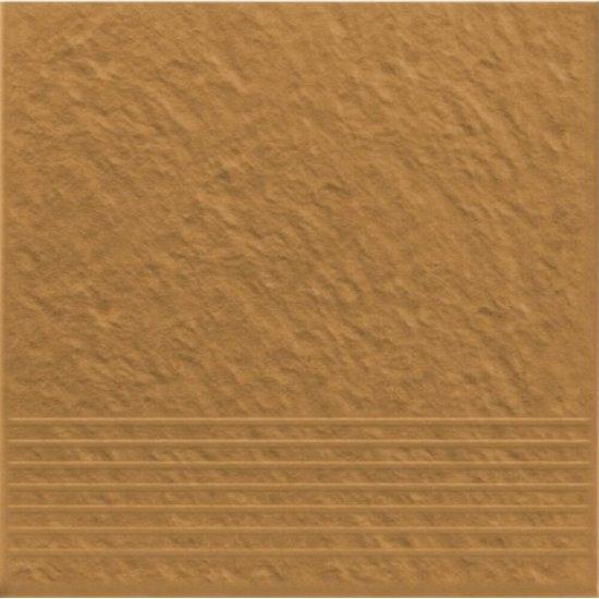 Klinkier SIMPLE SAND piaskowy stopnica 3-D mat 30x30 gat. I*