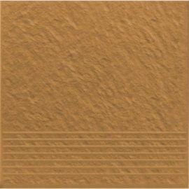 Klinkier SIMPLE SAND piaskowy stopnica struktura 3-D mat 30x30 gat. I