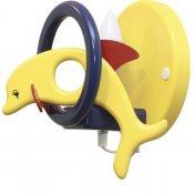 Kinkiet dziecięcy Delfin 0402.08 niebieski, żółty Klik
