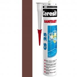 Silikon sanitarny CERESIT CS 25 chocolate 280 ml