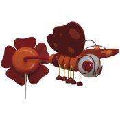 Kinkiet dziecięcy Motyl 0305.05 czerwono-pomarańczowy Klik
