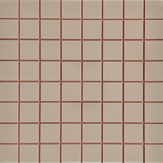Płytka ścienna INWENCJA brązowa mozaika i5 mat 20x20 gat. I