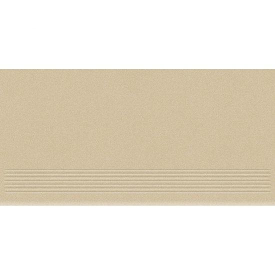 Gres zdobiony MOONDUST beżowy stopnica mat 29,55x59,4 gat. I