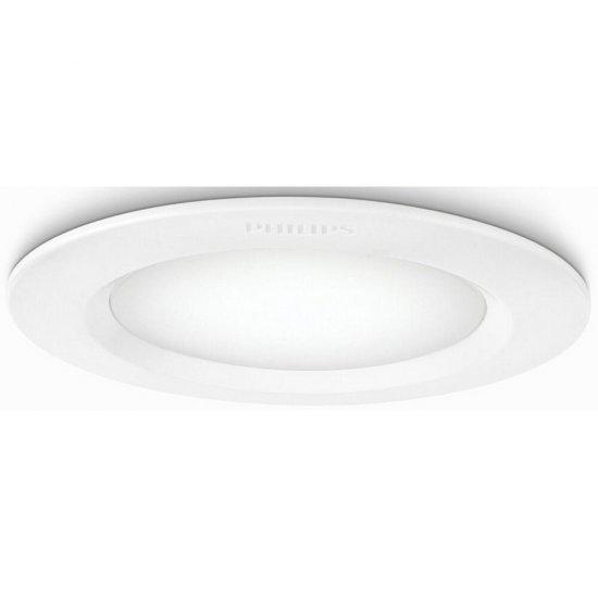 Oprawa punktowa sufitowa 1x6W ALCYONE, LED biała 77112/31/16 Philips