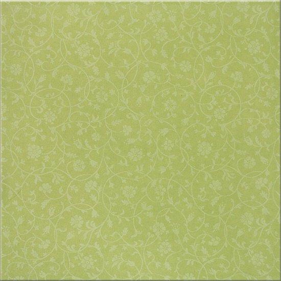 Płytka podłogowa SOFIA zielona błyszcząca 30x30 gat. I