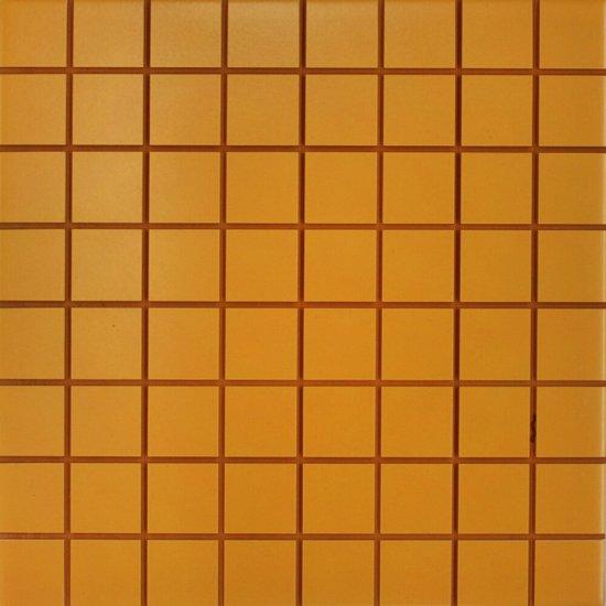 Płytka ścienna INWENCJA żółta mozaika i12 mat 20x20 gat. I