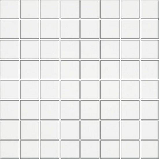Płytka ścienna INWENCJA biała mozaika błyszcząca 20x20 gat. I