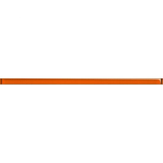 Płytka ścienna UNIVERSAL GLASS DECORATIONS pomarańczowa listwa 1,5x20 gat. I