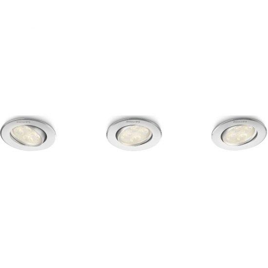 Oprawa punktowa sufitowa 3x4 W ALBIREO, LED 45090/48/16 Philips