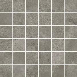 Gres szkliwiony QUENOS szary mozaika mat 29,8x29,8 gat. I