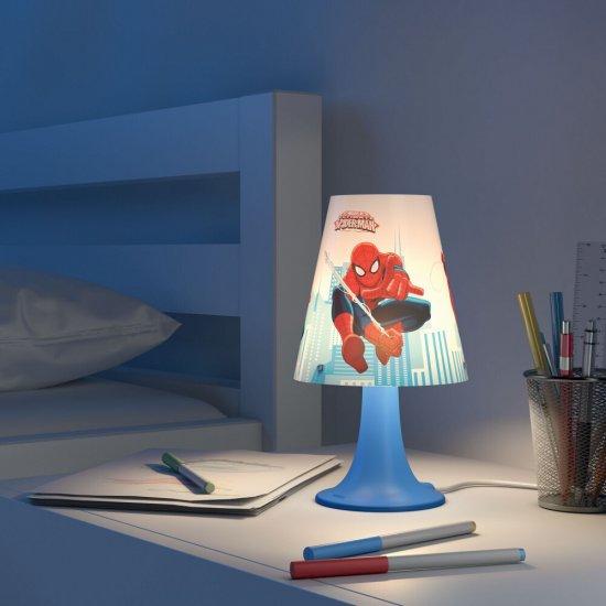 Lampa dziecięca 1x2,3W SPIDER-MAN, LED 71795/40/16 Philips