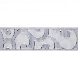 Płytka ścienna L-Cado grafit 1 listwa 7,4x25 Domino