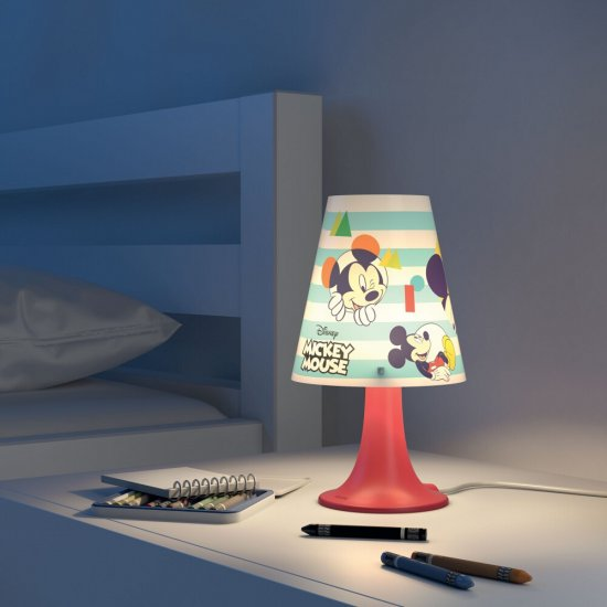 Lampa dziecięca 1x2,3W MICKEY MOUSE, LED 71795/30/16 Philips