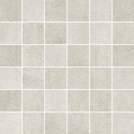 Gres szkliwiony GRAVA biały mozaika mat 29,8x29,8 gat. I