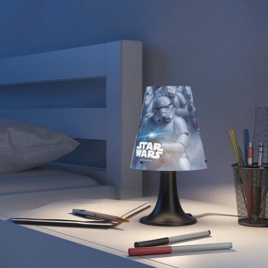 Lampa dziecięca 1x2,3W STAR WARS, LED 71795/99/16 Philips