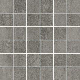 Gres szkliwiony GRAVA szary mozaika mat 29,8x29,8 gat. I
