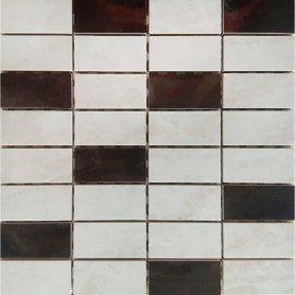 Płytka ścienna LEANDRA multikolor mozaika mix błyszcząca 29,7x29,7 gat. I