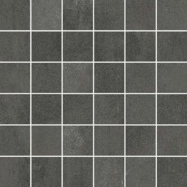 Gres szkliwiony GRAVA grafitowy mozaika mat 29,8x29,8 gat. I