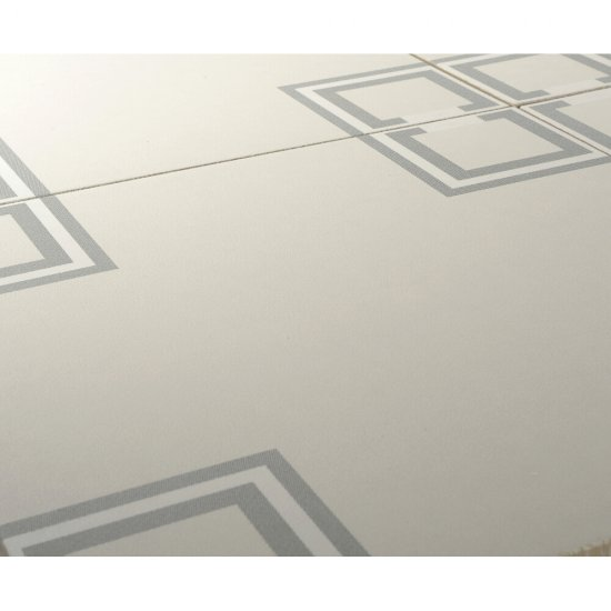 Gres szkliwiony BASIC PALETTE biały wzór B mat 29,7x29,7 gat. I