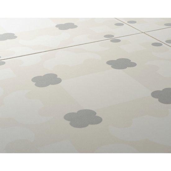 Gres szkliwiony BASIC PALETTE biały wzór C mat 29,7x29,7 gat. I