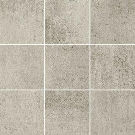 Gres szkliwiony GRAVA jasnoszary mozaika mat BS 29,8x29,8 gat. I