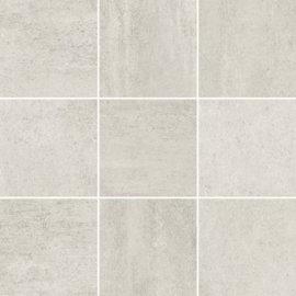 Gres szkliwiony GRAVA biały mozaika mat BS 29,8x29,8 gat. I