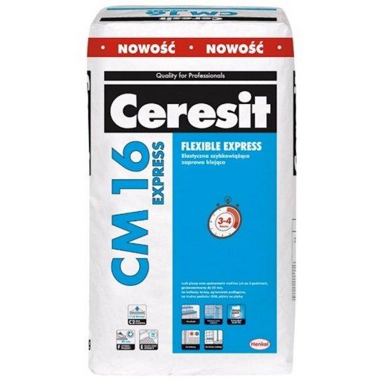 Zaprawa klejowa elastyczna do płytek CERESIT CM 16 Express 25 kg